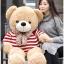 ตุ๊กตาหมีตัวอ้วน เสื้อลาย ขนาด 1 m. thumbnail 6