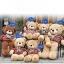 ตุ๊กตาหมีตัวอ้วน เสื้อลาย ขนาด 1 m. thumbnail 2