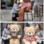 ตุ๊กตาหมีตัวอ้วน เสื้อลาย ขนาด 1 m. thumbnail 1