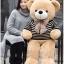 ตุ๊กตาหมีตัวอ้วน เสื้อลาย ขนาด 1 m. thumbnail 4