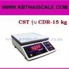 ตาชั่งดิจิตอล เครื่องชั่งดิจิตอล เครื่องชั่งแบบตั้งโต๊ะ เครื่องชั่งระบบอิเล็กทรอนิกส์ 15 kg ละเอียด 1 g ขนาด 218*260mm CST รุ่น CDR-15 kg