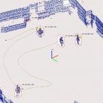 อุปกรณ์ตรวจจับการเคลื่อนไหวทางด้าน Drone Motion Capture