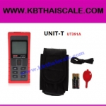 เครื่องวัดระยะเลเซอร์ ตลับเมตรเลเซอร์ดิจิตอล มิเตอร์วัดระยะดิจิตอล Laser Distance Meter Measure 0.1m-70meter UT391A