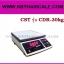 ตาชั่งดิจิตอล เครื่องชั่งดิจิตอล เครื่องชั่งแบบตั้งโต๊ะ เครื่องชั่งระบบอิเล็กทรอนิกส์ 30 kg ละเอียด 1 g ขนาด 218*260mm CST รุ่น CDR-30kg thumbnail 1