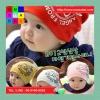 หมวกเด็กอ่อนเกาหลี ลายจักรยานติดปีก สำหรับเด็กวัย 3 - 24 เดือน