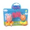 Peppa Pig ของเล่น Peppa Pig Bath Figurines 2 Pcs (A)