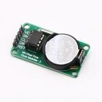 DS1302 โมดูลนาฬิกาพร้อมแบตเตอรี่ Real Time Clock Module with CR2032 Battery