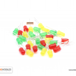 LED 5mm (เลือกสีได้ แดง เขียว เหลือง)