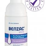 Benzac Foam Cleanser 50 ml สำหรับคนที่มีผิวมัน-ผิวผสมและมีแนวโน้มเป็นสิวง่าย