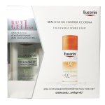 BUY 1 GET 1 SUN CC CREAM 50 ML Free DERMOPURIFYER ACNE AND MAKEUP CLEANSING WATER 200 ML