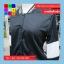 เสื้อคลุม แขนยาว ผ้า Poly Ester แต่งแถบ สีดำ thumbnail 11