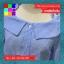 เสื้อแฟชั่น แขน3ส่วน คอบัว กระดุมหน้า ลายทาง สีฟ้า thumbnail 10