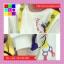 เสื้อแฟชั่น คอกลม แขนยาว บุกันหนาว ลายโดนัล สีขาว thumbnail 6