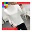 เสื้อแฟชั่น คอปีน แขนยาว สีพื้น thumbnail 1