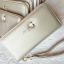 กระเป๋าสตางค์ใบยาวซิปรอบสีทอง Life simple and happy thumbnail 4