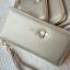 กระเป๋าสตางค์ใบยาวซิปรอบสีทอง Life simple and happy thumbnail 6
