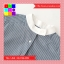 เสื้อแฟชั่น คอกลม กระดุมหน้า แขนยาว ลายทาง สีฟ้า thumbnail 8