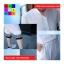 ชุด 2 ชิ้น เสื้อแฟชั่น คอปีน แขนจั๊ม + กางเกง3 ส่วน สีขาว thumbnail 3