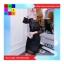 เดรสแฟชั่น คอกลม แขนยาว ซิปหลัง ผ้าลูกไม้ สีดำ thumbnail 2