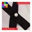 ชุด 2 ชิ้น เสื้อแฟชั่น แขนตุ๊กตา ซิปหลัง แต่งโบว์ สีขาว + กระโปรงสั้น สีดำ thumbnail 4