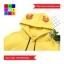 เสื้อกันหนาวแฟชั่น มีฮูด มีหูกวาง ปักลายเกร็ดหิมะ แขนยาว thumbnail 19