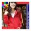 เสื้อคลุม ผ้าฝ้าย บุกันหนาว มีฮูด แขนยาว ลายหนวด สีแดง thumbnail 2
