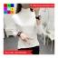 เสื้อแฟชั่น คอปีน แขนยาว สีพื้น thumbnail 5