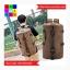 กระเป๋าเป้เดินทาง ทรงกระบอก ผ้าแคนวาส thumbnail 4