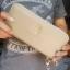 กระเป๋าสตางค์ใบยาวซิปรอบสีทอง Constant dripping thumbnail 4