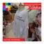 เสื้อคลุมแฟชั่น คอกลม แขนยาว ซิปหน้า กระเป๋าข้าง ลาย Why am สีขาว thumbnail 7