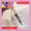 เสื้อแฟชั่น ปกเชิ๊ต แขนยาว ปักลายผูกโบว์ ซิปหลัง สีขาว thumbnail 11