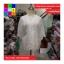 เสื้อคลุมแฟชั่น ผ้าลูกไม้มีลายดอกไม้ ขอบแต่งพู่ สีขาว thumbnail 6