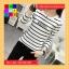 เสื้อแฟชั่น คอกลม แขนยาว ลาย candyglow สีขาว thumbnail 5