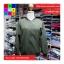 เสื้อคลุม แขนยาว ซิปหน้า ผ้า poly ester สีเขียว thumbnail 9
