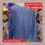 เสื้อแฟชั่น แขนยาว คอวี กระดุมหน้า ลายทาง สีฟ้า thumbnail 14