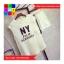 ชุด 2 ชิ้น เสื้อแฟชั่น + กางเกงเอวจั๊มขาสั้น สีขาว thumbnail 4