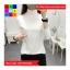เสื้อแฟชั่น คอปีน แขนยาว สีพื้น thumbnail 2