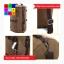กระเป๋าเป้เดินทาง ทรงกระบอก ผ้าแคนวาส thumbnail 7