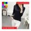 เสื้อแฟชั่น คอปีน แขนยาว สีพื้น thumbnail 8