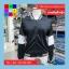 เสื้อคลุม แขนยาว ผ้า Poly Ester แต่งแถบ สีดำ thumbnail 9