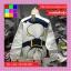 เสื้อแฟชั่น คอกลม แขนยาว บุกันหนาว ลายโดนัล สีขาว thumbnail 9