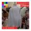 เสื้อคลุมแฟชั่น คอกลม แขนยาว ซิปหน้า กระเป๋าข้าง ลาย Why am สีขาว thumbnail 8