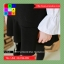 เดรสแฟชั่น แขนยาวทรงตุ๊กตา ผ้าฝ้าย สีดำ thumbnail 11
