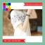เดรสแฟชั่น คอกลม แขนตุ๊กตา ปักลายดอกไม้ สีขาว thumbnail 3