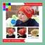 หมวกเด็กอ่อนเกาหลี ลายจักรยานติดปีก สำหรับเด็กวัย 3 - 24 เดือน thumbnail 2