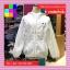 เสื้อคลุมแฟชั่น มีฮูด แขนยาว ผ้าร่ม ลาย Smile thumbnail 9