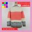 เสื้อกันหนาว แขนยาว ผ้าไหมพรมสเวตเตอร์ สีชมพู thumbnail 10