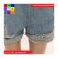 เอี๊ยมยีนส์ ขาสั้น สียีนส์ซีด thumbnail 5