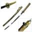 JAPAN ดาบคาตานะ Mikazuki Munechika Sword + แท่นวาง(Touken Ranbu) thumbnail 1