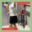 เสื้อคลุมแฟชั่น มีฮูด แขนยาว ซิปหน้า สีเทา thumbnail 4